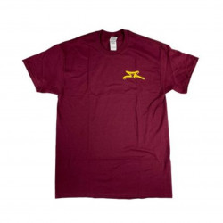 T-Shirt AO Scooter Nest Maroon