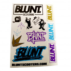 Planche Stickers BLUNT...