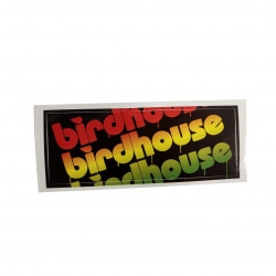 Sticker BIRDHOUSE Rasta