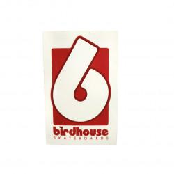 Sticker BIRDHOUSE Logo Blanc