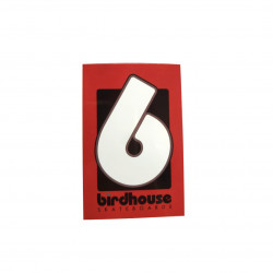 Sticker BIRDHOUSE Logo Rouge