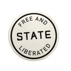 Sticker STATE Free And...