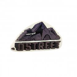 D STREET Mountain Sticker