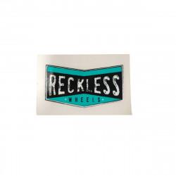 RECKLESS Wheel Logo Sticker