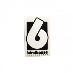 BIRDHOUSE Black Logo Sticker