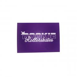Purple ROOKIE Logo Sticker