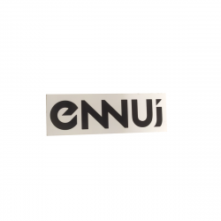 ENNUI Logo Sticker
