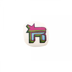 Small Logo ROOKIE Sticker