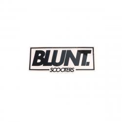 Sticker BLUNT Logo Black