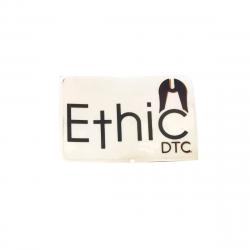 ETHIC DTC Logo Sticker