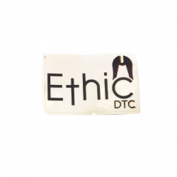 Sticker ETHIC DTC Logo