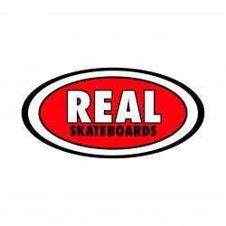REAL Logo Sticker