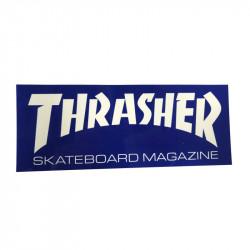 THRASHER Blue Logo Sticker