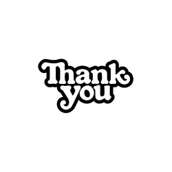 THANK YOU Skateboard Logo...