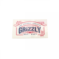Sticker GRiZZLY Griptape...