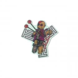 TRIAD Scooter Voodoo Sticker