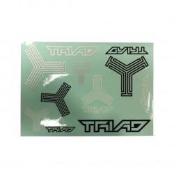 TRIAD Scooter Sticker Plate