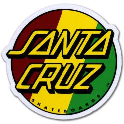 Sticker SANTA CRUZ Rasta
