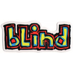 Sticker BLIND Skateboard Logo