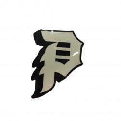 PRIMITIVE P Logo Black Sticker