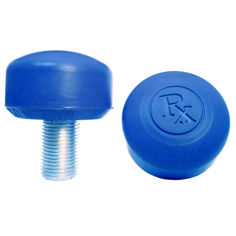 Roller Quad - RX TOE STOPS BLEU SURE GRIP ROLLER QUAD