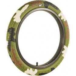 "18"" Family BMX Green Camo Tire"