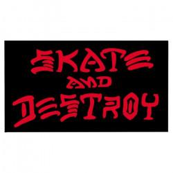 SK8 & DESTROY BLACK THRASHER