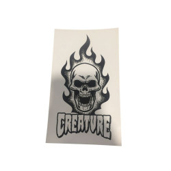 CREATURE Skateboard Burning...