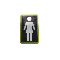 Sticker GIRL Skateboard...