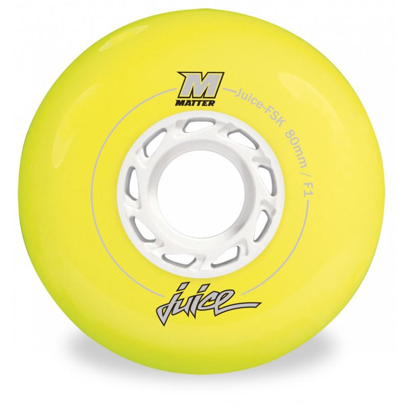 Roue Roller Freeskate, Slalom, Freeride - MATTER JUICE FSK 76MM F1 jaune
