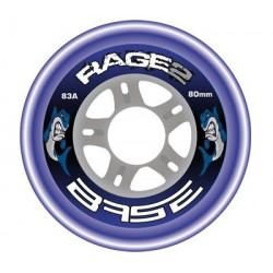 Roue base Rage II 83A, roue roller hockey