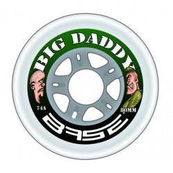 Roue Base Big Daddy 74a, roue de roller hockey
