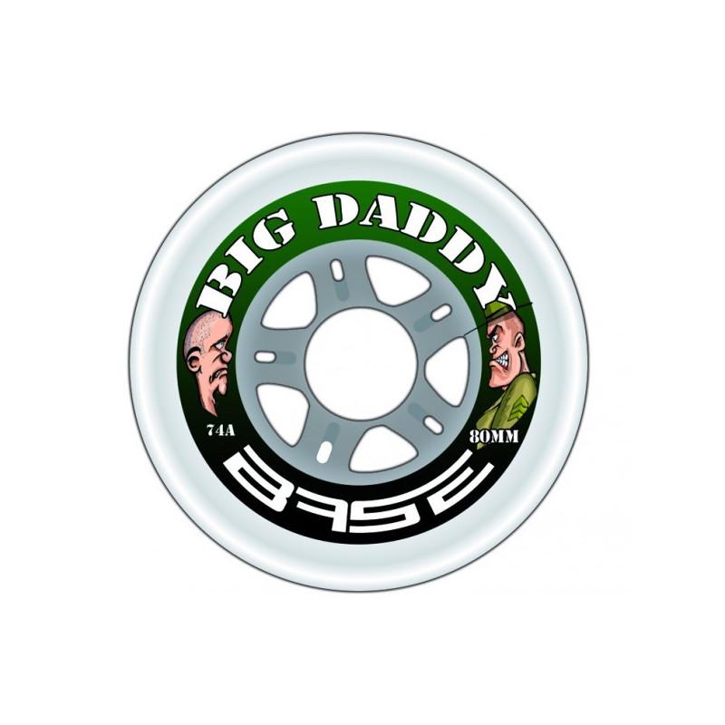 Roue Base Big Daddy 74a, roue de roller hockey