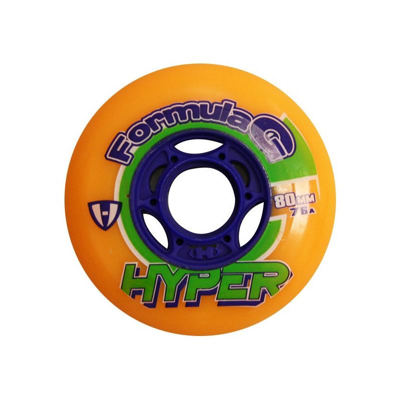 Roue Hyper Formula G era 76A, roue de roller hockey