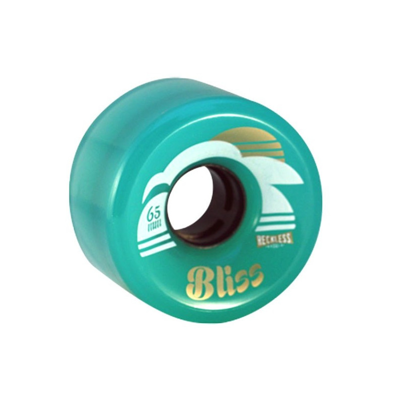 BLISS turquoise 65mm-78A RECKLESS ROUE QUAD