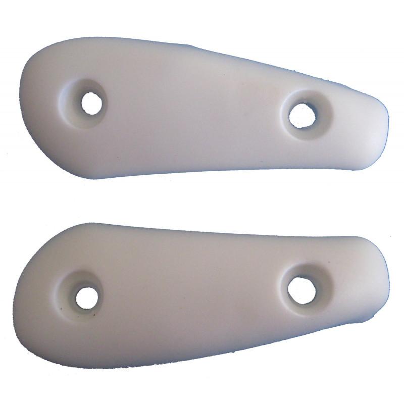 Slider seba FR blanc, lateral abrasive pad seba white
