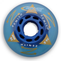 Roue Roller Hockey Roll Line aster soft bleu 72a - wheels Hockey Indoor