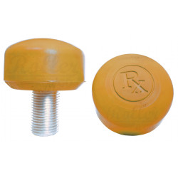 RX TOE STOPS GOLD SURE GRIP ROLLER QUAD