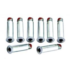 Visserie roller - Axes Simples 8mm pour platine Platine FR Deluxe et rockered, vendus par 8