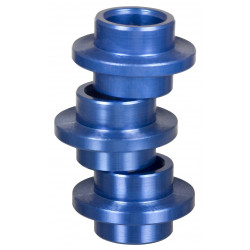 entretoises Alu 8mm (X8) bleu 608