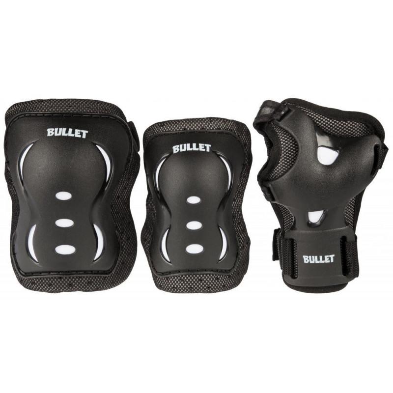 PACK PROTECTION Bullet NOIR Triple Padset