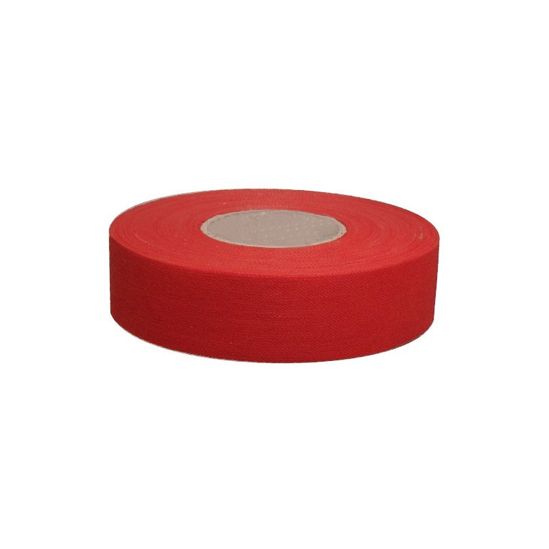 Accessoire Hockey, Roller Hockey - Tape couleur rouge 25m