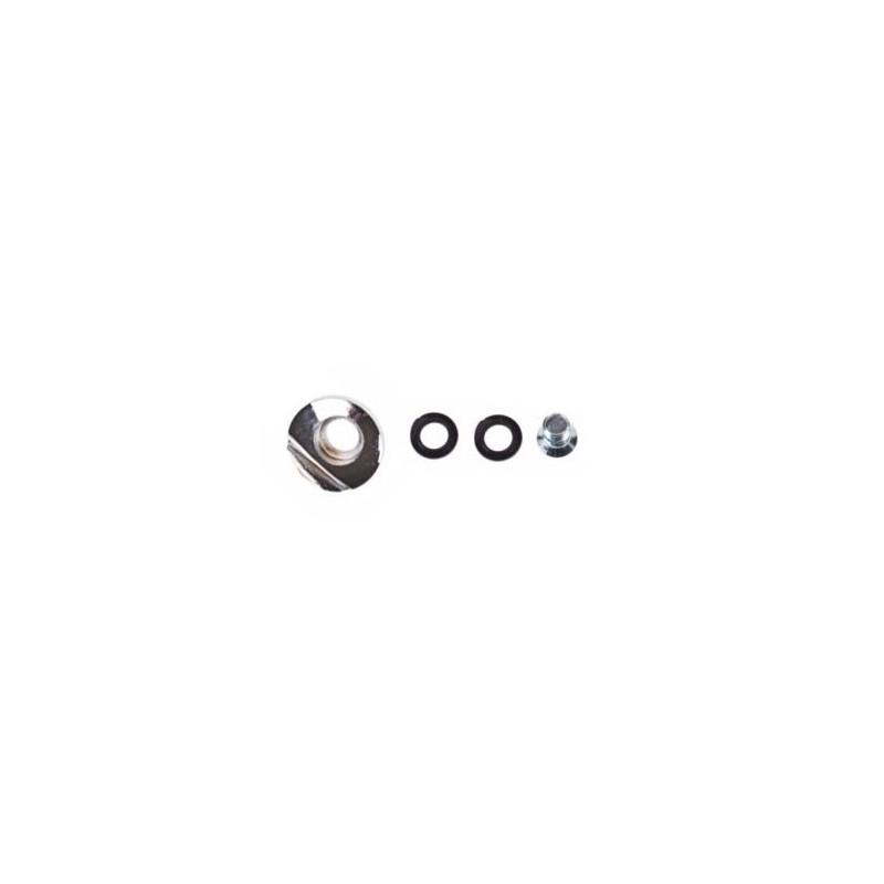 Vis Spoiler SEBA silver - cuff button set