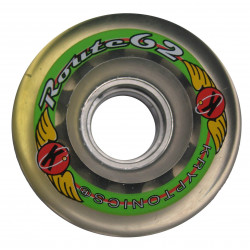 Roue roller quad - Kryptonics Route translucide 62mm - 78a