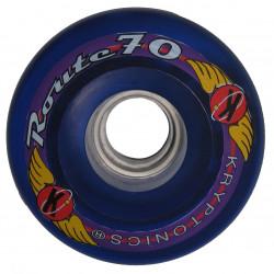 Roue roller quad  - Kryptonics Route bleu 70mm - 78a