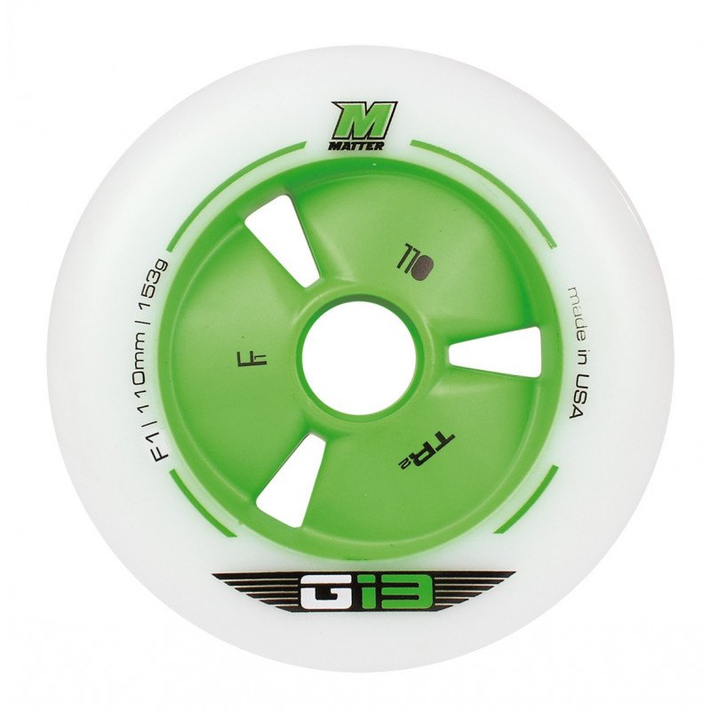 Roue roller race, vitesse, course- roue Matter G13 TR3 F1 100mm-86A