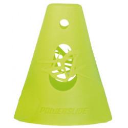 Accessoire freeskate slalom - Plots de slalom Powerslide vert  x10