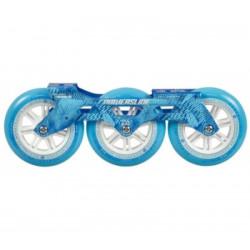 platine megacruiser 3x125mm bleue powerslide