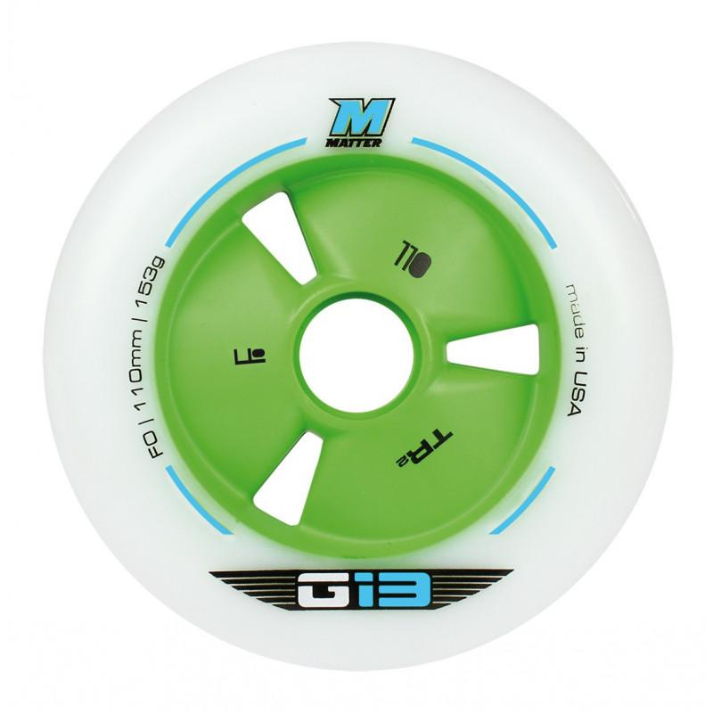 Roue Roller course, Vitesse - Roue Matter G13 TR3 F0 100mm-88A bleue
