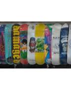 plateaux skateboard nus
